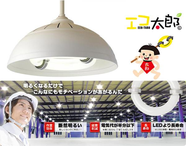 【国産】無電極ランプ「エコ太郎」